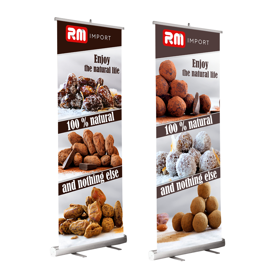 Roll Up banners tryksager